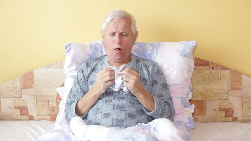 Elder Coughing-respiratory infection